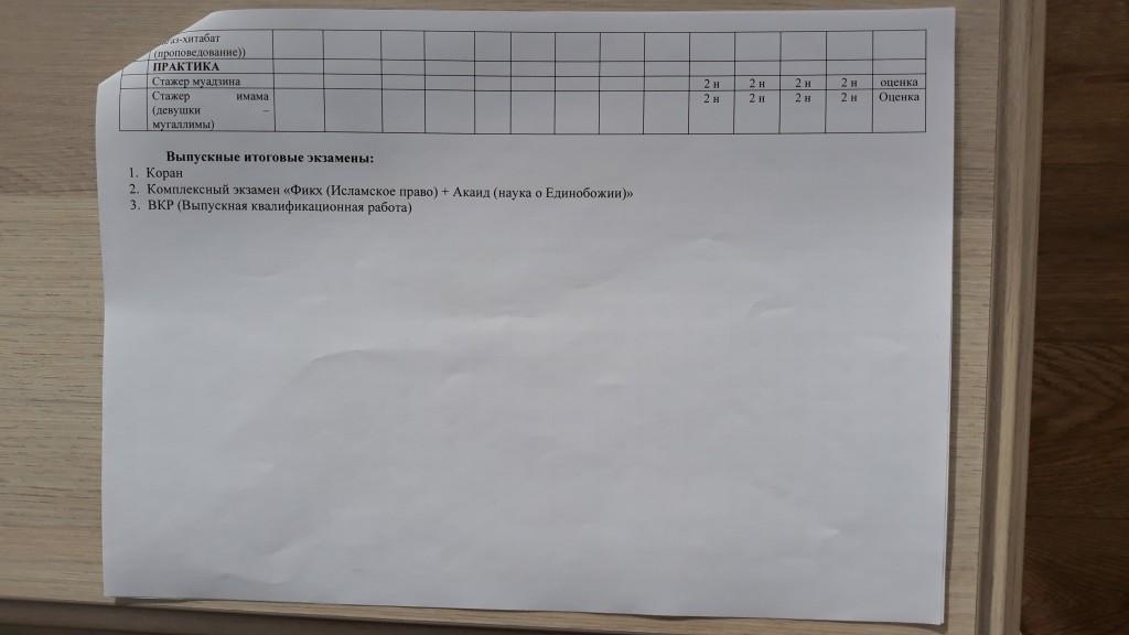 график учебного процесса (очно-заочно) 2