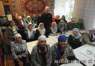 30 сентября завершилась 1 сессия (установочная) студентов «Медресе «Хусаиния»