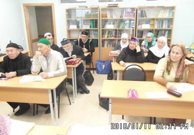 11 января в «Медресе «Хусаиния» РДУМОо прошла защита курсовых работ студентами заочной формы обучения