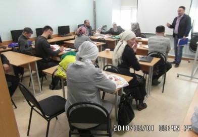 1 мая в здании «Медресе «Хусаиния» прошла защита курсовых работ студентами очно-заочной формы обучения