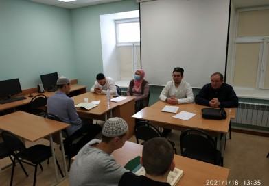 18 января в «Медресе «Хусаиния» Оренбурга прошел 1-й семестровый экзамен по предмету «Коран» у студентов 1 и 2 курсов очного отделения