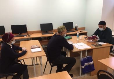 С 12 января в «Медресе «Хусаиния» Оренбурга проходят семестровые экзамены у студентов очно-заочное (вечерней) формы обучения